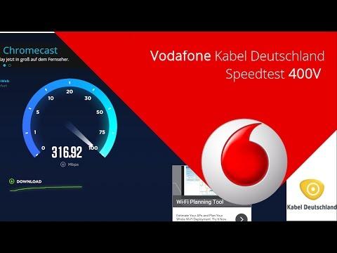 400 Mbits Vodafone / Kabel Deutschland SPEEDTEST (Rheinland-Pfalz)