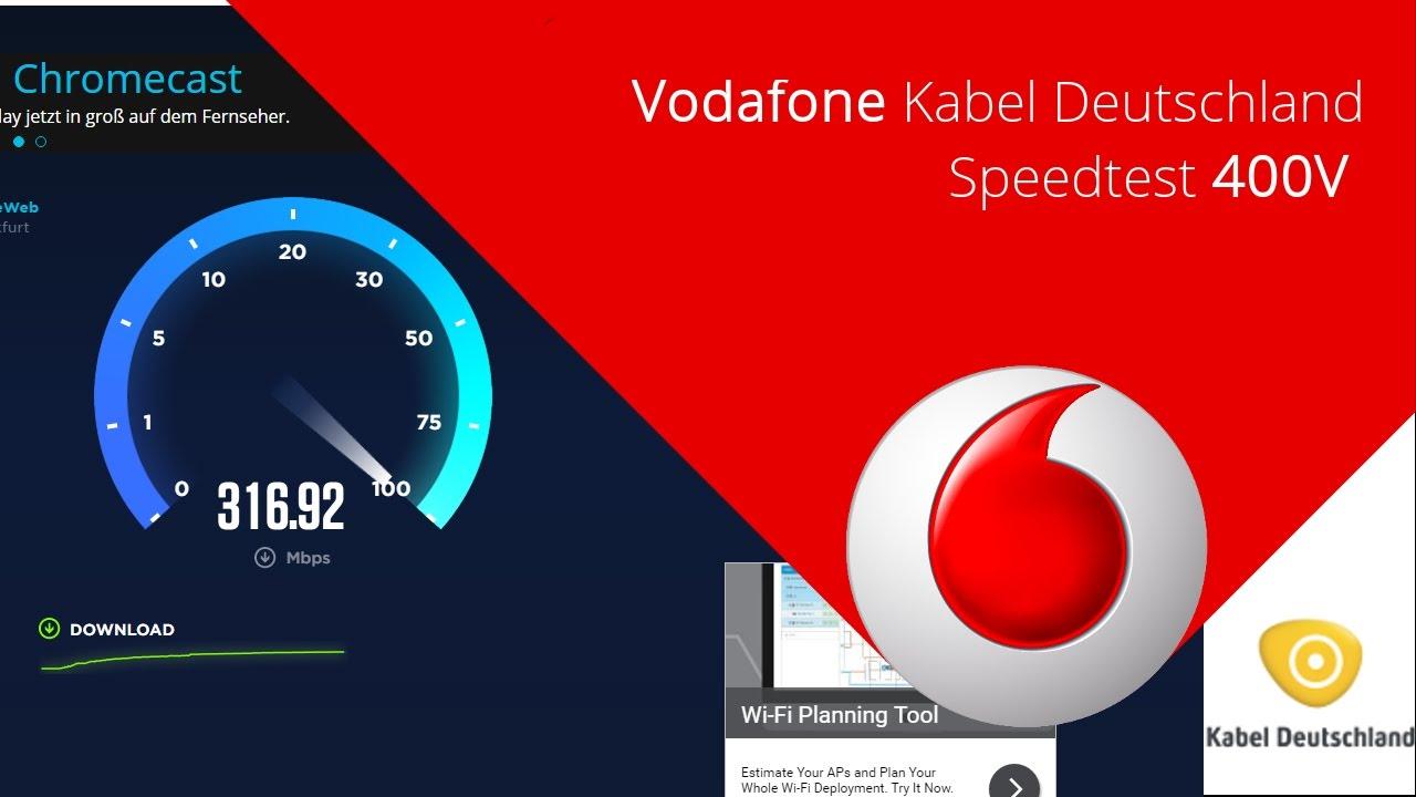 Vodafon Kabel Speedtest