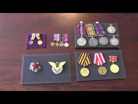 My War Medal Collection