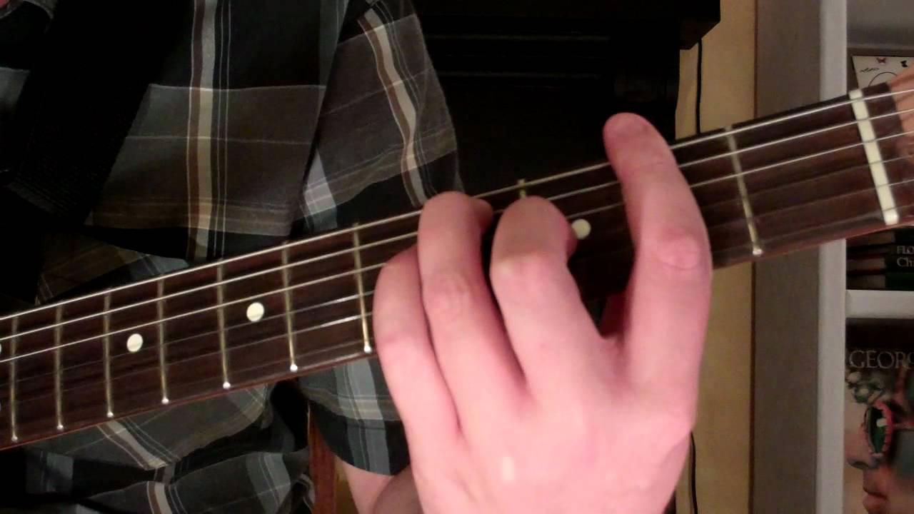 How To Play The F7 Chord On Guitar F Sharp Seventh 7th Youtube