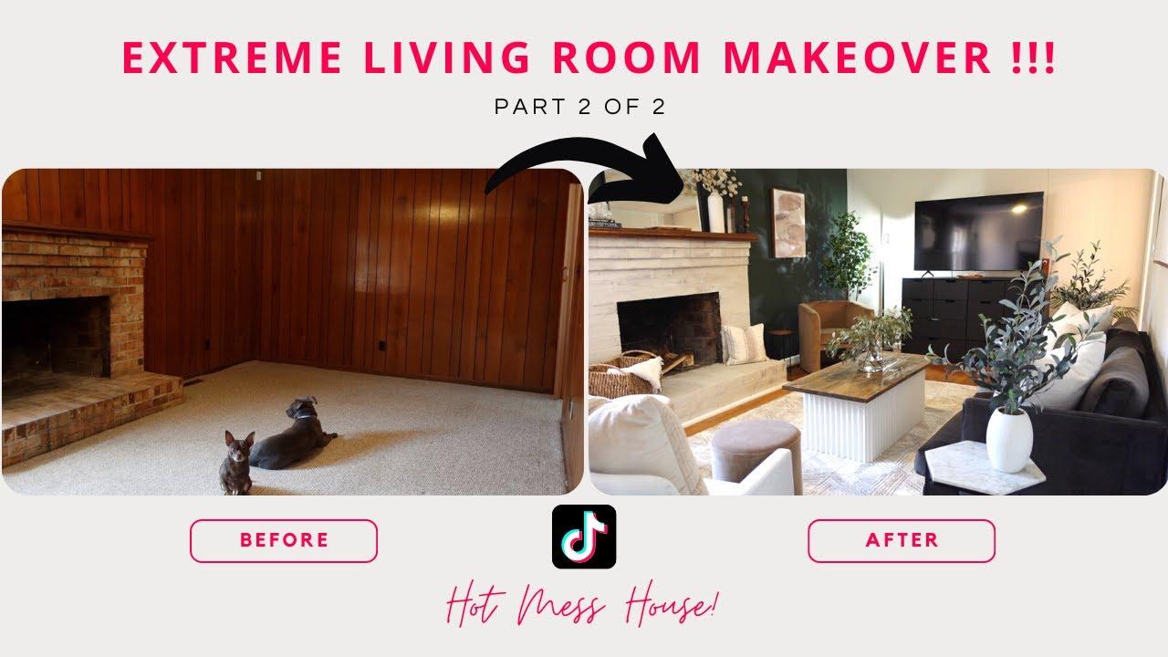 EXTREME LIVING ROOM MAKOVER PART 2