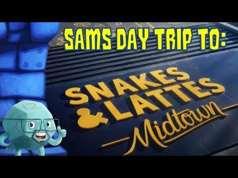 Sam's Day Trip To Snakes & Lattes Midtown in Toronto