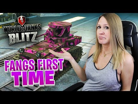 MY FIRST TIME ON WORLD OF TANKS BLITZ! PINK CAMO!!