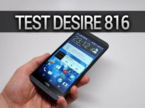 Test du HTC Desire 816 - par Test-Mobile.fr