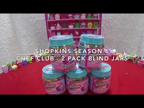 Shopkins Season 6 Chef Club 2-Pack Blind...