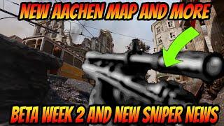 *NEW* COD WWII BETA WEEK 2 INFORMATION! (New sniper, Aachen map, scorestreaks, and MORE)