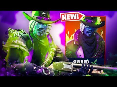 The New DEADFIRE Skin Gameplay In Fortnite..