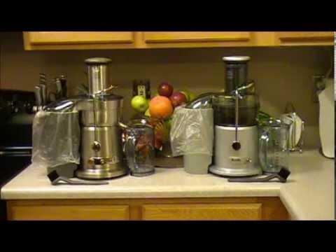 breville juice fountain plus je98xl vs breville juice fountain elite 800jexl review youtube - Breville Juicer