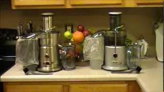Breville Juice Fountain Plus JE98XL vs Breville Juice Fountain Elite 800JEXL Review
