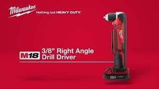 Milwaukee® M18™ Cordless Right Angle Drill 2615-21