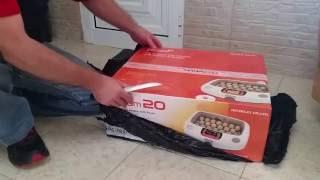Unboxing my new Rcom 20 Max Incubator...