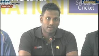 Anjalo Mathews Step Down as Sri Lanka Captain