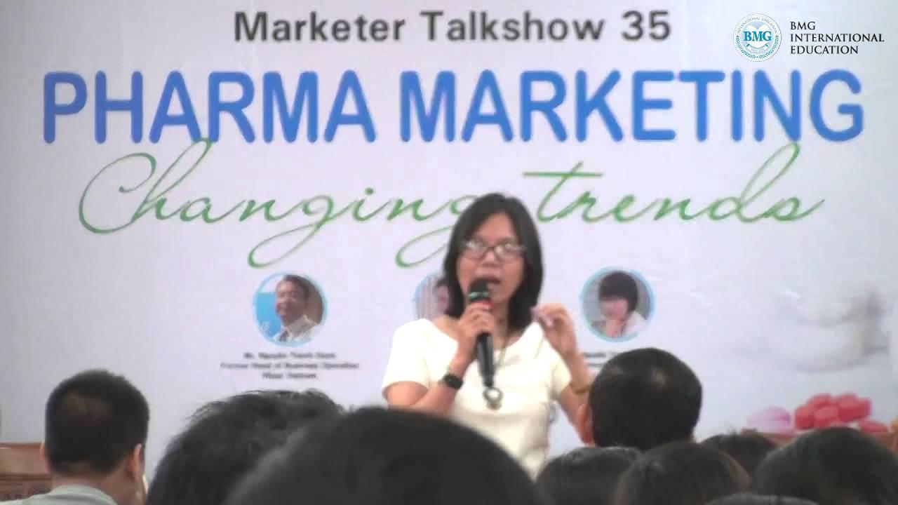 """Marketer Talkshow 35: """"Pharma Marketing – Changing Trends"""" – Diễn giả: Nguyễn Trình Thùy Trang"""