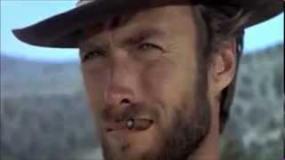Clint Eastwood vs Nicolas Cage Stare Down