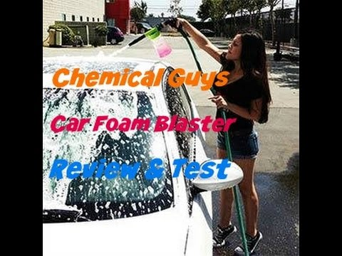Test and Review of Chemical Guys Car Foam Blaster