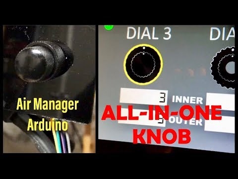 Air Manager Arduino All-In-One Knob