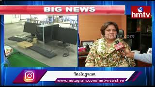 Municipal Department Director Sridevi Face to Face over Municipal Poll Counting in Telangana || hmtv
