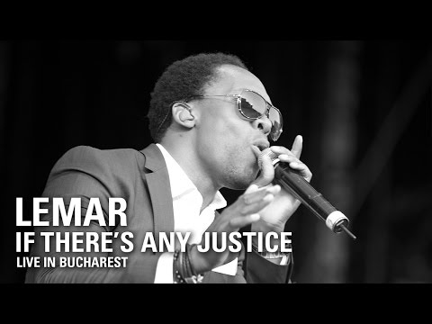 Lemar | If There's Any Justice (Robbie Williams - LMEY Tour 2015, Bucharest)