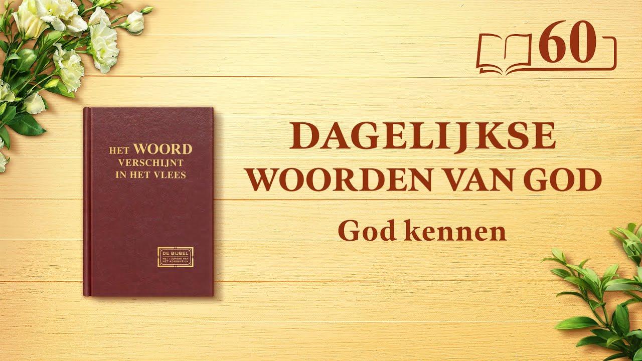 Dagelijkse woorden van God | Gods werk, Gods gezindheid en God Zelf II | Fragment 60