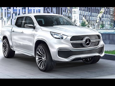 Mercedes Pickup Truck Review 2017 World Premiere Mercedes X Class Pickup Truck 2017 CARJAM TV HD