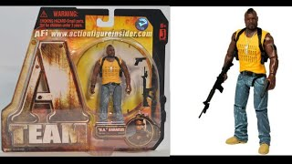 The A team movie BA baracus 4 inch action figure review