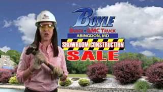 Buick LaCrosse GMC Sierra Baltimore Dealer Construction Sale