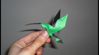 Origami Hummingbird (Christopher Randall) Tutorial