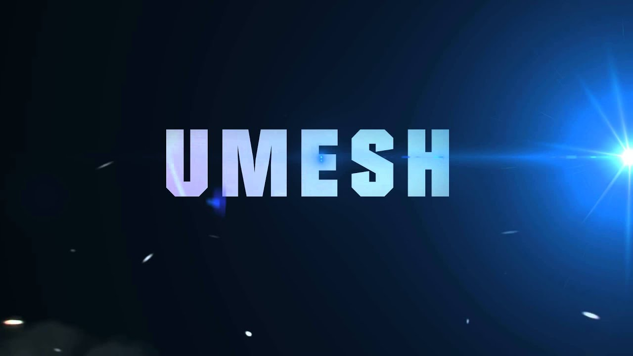 umesh logo in after effect cs4 - youtube