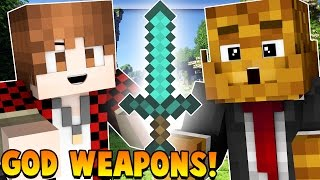 GOD WEAPONS - Minecraft Money Wars #4 w/ JeromeASF & BajanCanadian