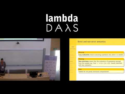 Lambda Days -  Adam Szlachta - Functional programming patterns in Haskell
