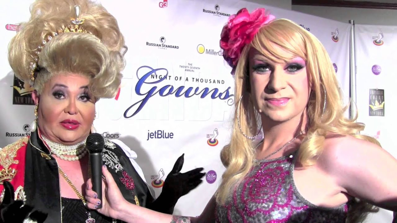 Sassy @ Night of A Thousand Gowns 2013 (Part One) - YouTube