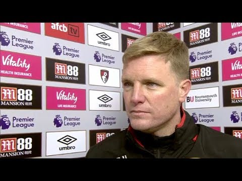 Eddie Howe Post Match Reaction Interview | AFC Bournemouth 2-1 West Brom | Premier League Review