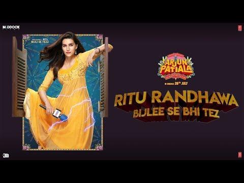 Kriti Sanon as Ritu Randhawa- Making Arjun Patiala Diljit, Varun Dinesh V Bhushan  K Rohit J 26 July