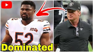 Film Study: How the Raiders Shut Down Khalil Mack