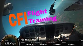 CFI Student Flight Training | Cessna 182 RG | Lazy Eights & Stalls