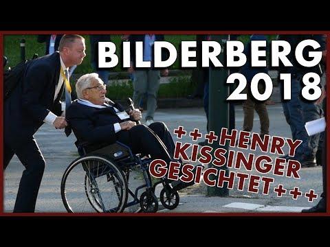 BILDERBERG 2018: Kissinger & Von der Leyen gesichtet! Polizei kontrolliert Journalisten