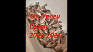 ПЕРВЫЙ ЛЁД КАРАСЬ ПРЕТ НЕДУРОМ ОЗ Уелги сезон 2020 2021 Рыбалка в Челябинской области
