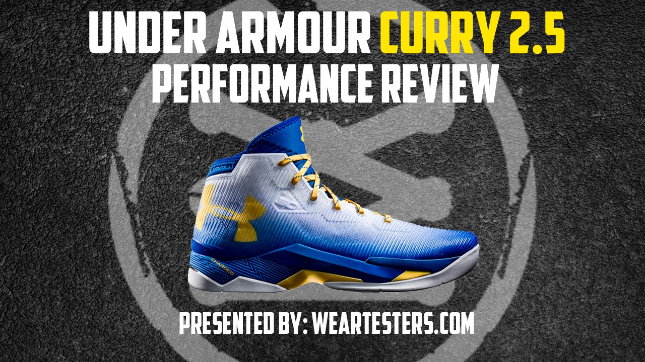 the best attitude ed3c3 e84dc Under Armour Curry 2.5 - Performance Review