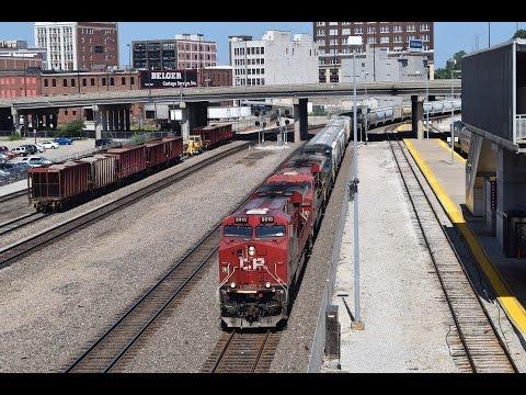 Railfanning KC Union Station 7/12/15 pt 2 ft CP/CSX, Fakebonnet, & more!