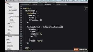 Backbone JS Creating Records - 23 tutsplus