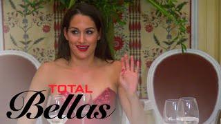 Nikki Bella's Bachelorette Party Dinner Gets Weird | Total Bellas | E!