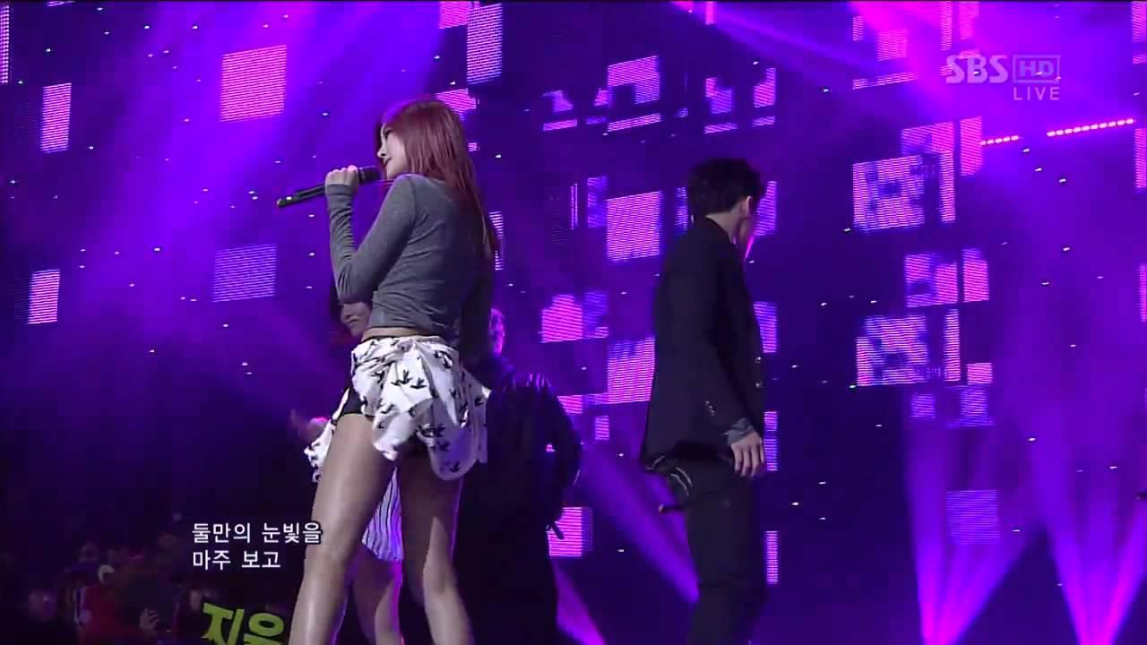 NS Yoon-G (Feat. Simon) - If You Love Me 121202 SBS ...
