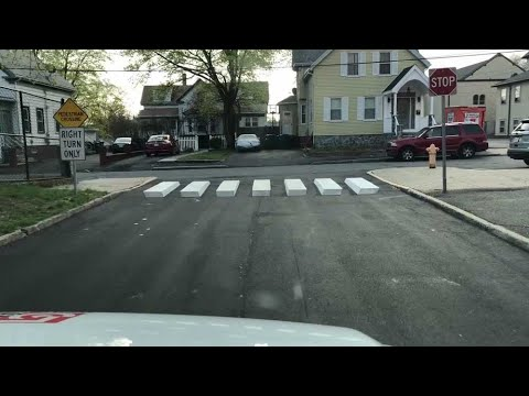 Don Action Jackson - 10-Year Old's 3D Crosswalk Idea Slows Down Drivers In School Zone