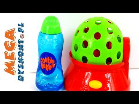 Bańki Double Bubble - Maszynka do robienia baniek - HTI - Gry i kreatywne zabawy dla dzieci