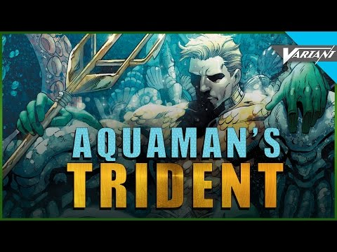 Origin Of Aquaman's Trident!