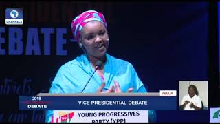 Vice-Presidential Debate Pt.9: Subsidy To A Typical Nigerian Is Just A Scam - Umma Getso