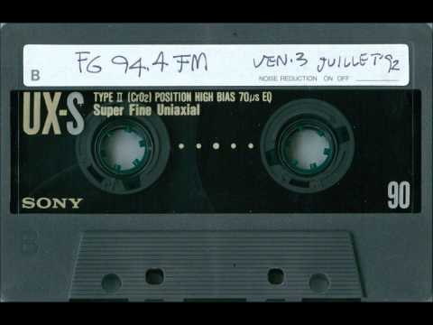 1992.07.03 dj DIMITRI sur Radio FG - Partie B