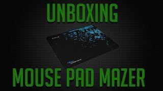 Unboxing #1 MousePad E-Blue Mazer MazFace