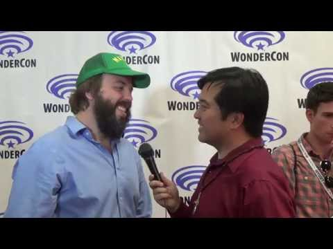 WonderCon 2015:  with Angus Sampson for Insidious: Chapter 3.