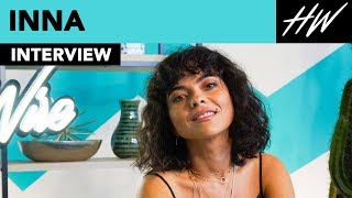INNA Reveals Difficulties Of Being A Judge On The Voice & When She Kissed A Fan! | Hollywire Video
